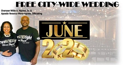 FREE CITY-WIDE WEDDING REGISTRATION tickets