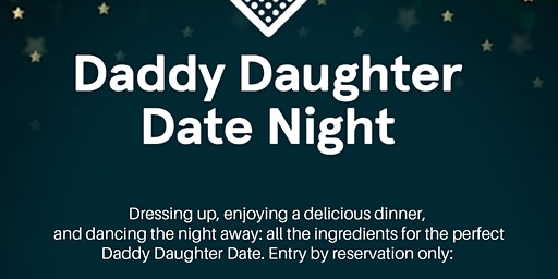 Daddy-Daughter Date Night--A Night Under the Stars