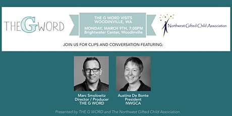 Clips & Conversation: Join THE G WORD In Woodinville, WA on Monday, March 9 tickets