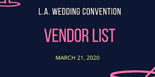 LA Wedding Vendors