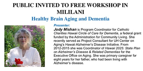 Healthy Brain Workshop tickets