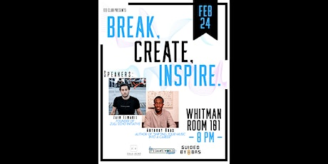 Break, Create, Inspire: Defining a Creative Entrepreneur tickets