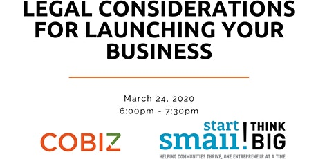 Planning for Success: Legal Considerations for Launching Your Business tickets