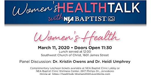 Women's HealthTalk with NEA Baptist