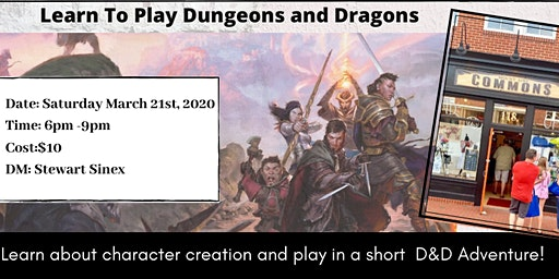Learn To Play Dungeons and Dragons