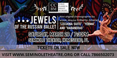 Jewels of the Russian Ballet tickets