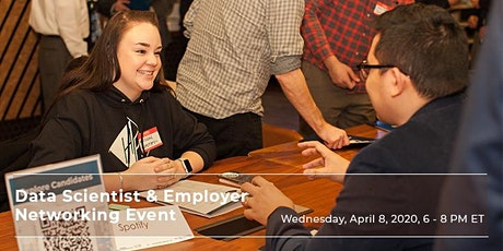 (Alumni RSVP) Data Scientist & Employer Networking Event | April 8 tickets