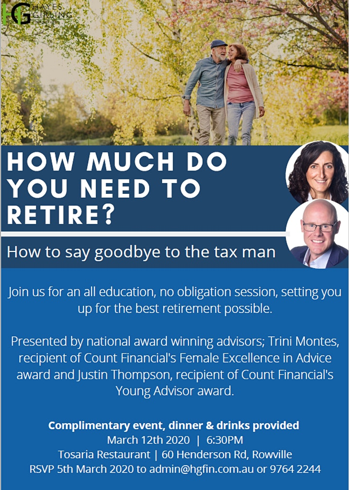 How to say goodbye to the tax man image
