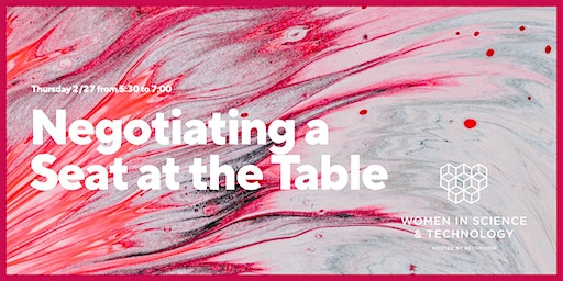 "WiST: ""Negotiating a Seat at the Table"""