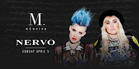 NERVO at Mémoire (New date: August 16th 2020) tickets