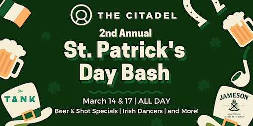 2nd Annual St. Patrick's Day Bash - Saturday