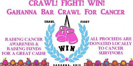CRAWL!  FIGHT!  WIN!  Annual Spring Gahanna Bar Crawl! tickets