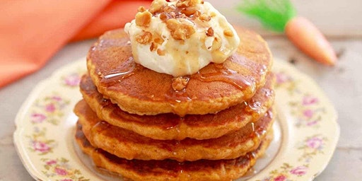 Carrot Apple Whole Wheat Pancakes-Apple-y ever after