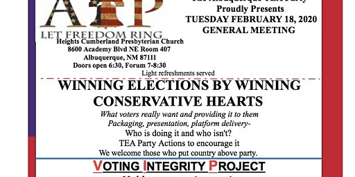 Winning Elections through Conservative Hearts