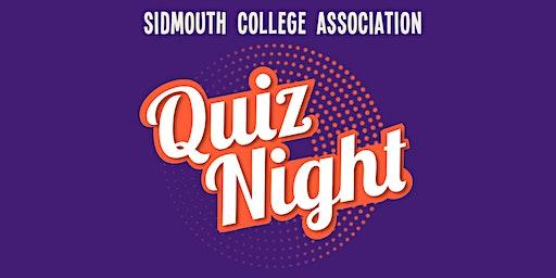 Sidmouth College Association Quiz Night