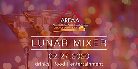 AREAA Lunar Mixer tickets