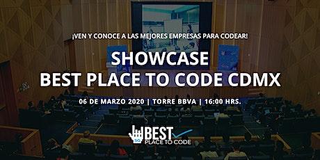 Showcase Best Place To Code CDMX 2020 entradas