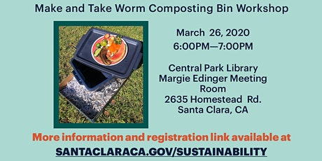 Make & Take Worm Composting Bin Workshop tickets