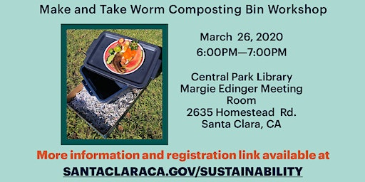 Make & Take Worm Composting Bin Workshop