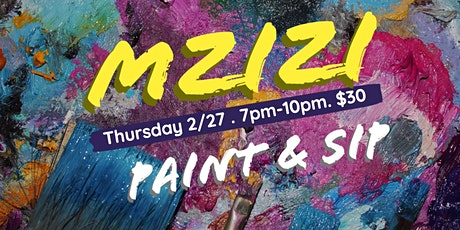 Mzizi Paint and Sip  tickets