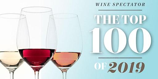 Wine Night - Wine Spectator's Top 100 Wines of 2019