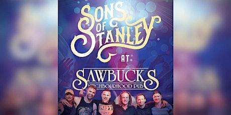 Sons of Stanley @ Sawbucks Pub, Saturday Feb 29 2020 8PM tickets