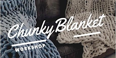 Chunky Knit Blanket Workshop tickets