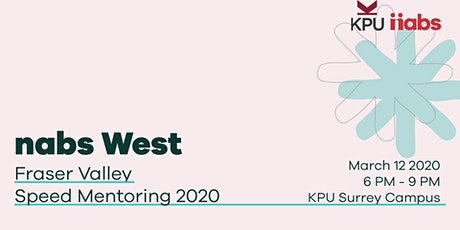 Fraser Valley Speed Mentoring 2020 Presented by Kwantlen Polytechnic University tickets