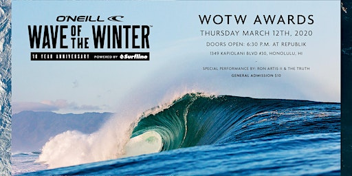2020 Wave of the Winter Awards
