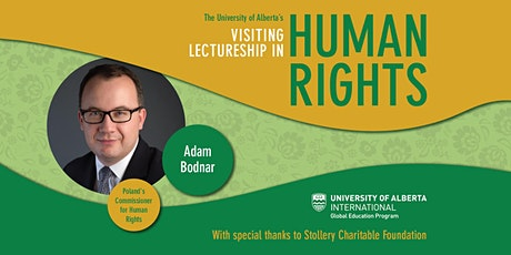 Visiting Lectureship in Human Rights - Adam Bodnar tickets