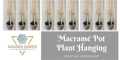 Macramé Pot Plant Hanging Workshop tickets