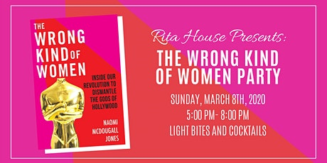 Wrong Kind of Women Book Launch Party tickets