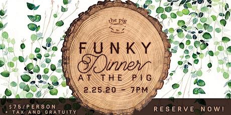 Wine & Swine: Funky Dinner Edition tickets