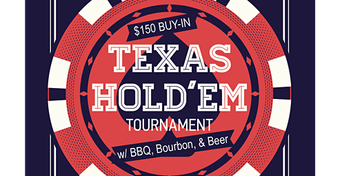 Poker Tournament with BBQ, Bourbon & Beer