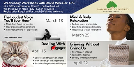 Wednesday Workshops with David Wheeler (Henderson) tickets