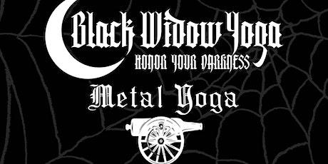 METAL YOGA w/ Black Widow Yoga at Castle Island Brewing tickets