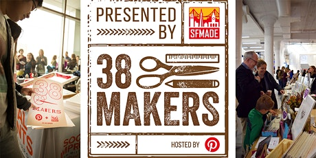 38Makers 2020 - Holiday Fair at Pinterest tickets