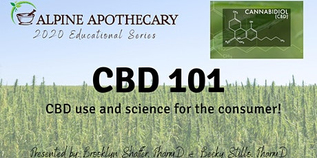 CBD 101 - consumer use and science! tickets