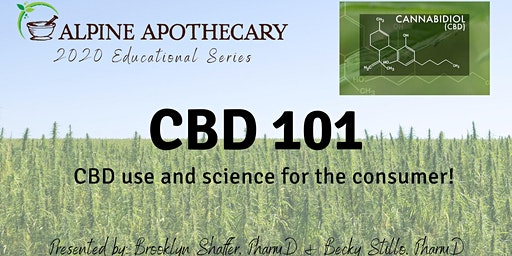 CBD 101 - consumer use and science!