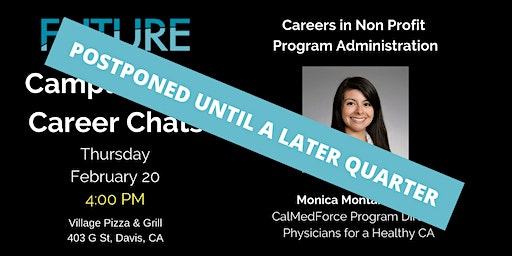 FUTURE Campus-Side Career Chats: Monica Montano, Ph.D.