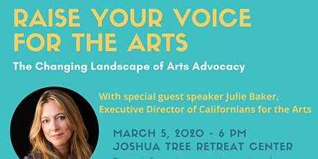 Raise Your Voice for the Arts - The Changinge Landscape of Arts Advocacy tickets