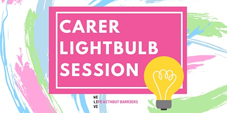 Foster and Kinship Carer Lightbulb Session - Sunshine tickets
