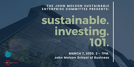Sustainable Investing 101 tickets