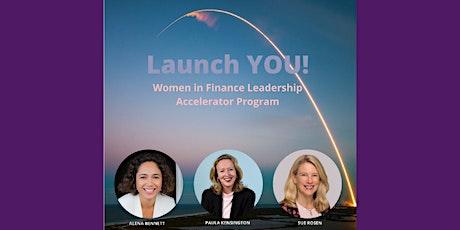 Launch YOU! Women in Finance Leadership Accelerator Program tickets