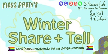 Moss Party's Winter Share & Tell tickets