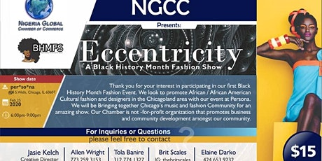 NGCC Black History Month tickets