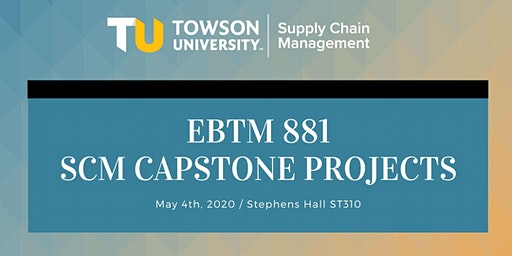 Spring 2020 Capstone Projects