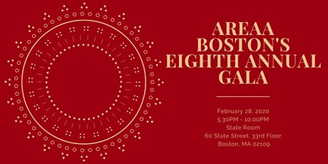AREAA Boston's 8th Annual Gala tickets