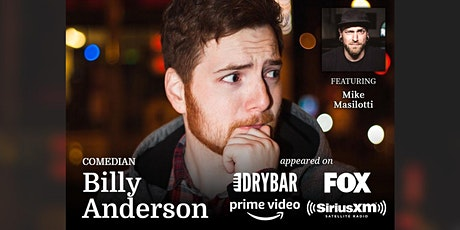 Stand-up Comedy Night with Billy Anderson tickets