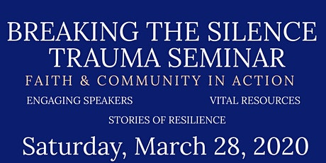 Breaking the Silence Seminar - Denver NC tickets